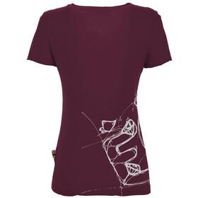 E9 Reve T-Shirt Women, violeta